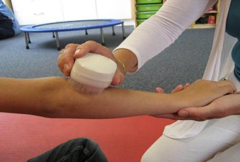 borsteltherapie Move & Mind Sensorische integratie