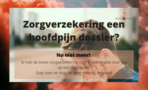 Beste vergoeding fysiotherapie zorgverzekering 2021 Move & Mind de Bilt