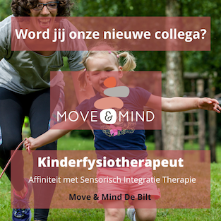 Vacature Kinderfysiotherapeut Sensorische Integratie Therapie De Bilt Move & Mind
